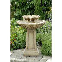 Bird Bath Outdoor Water Fountain | Outdoor water fountains ...