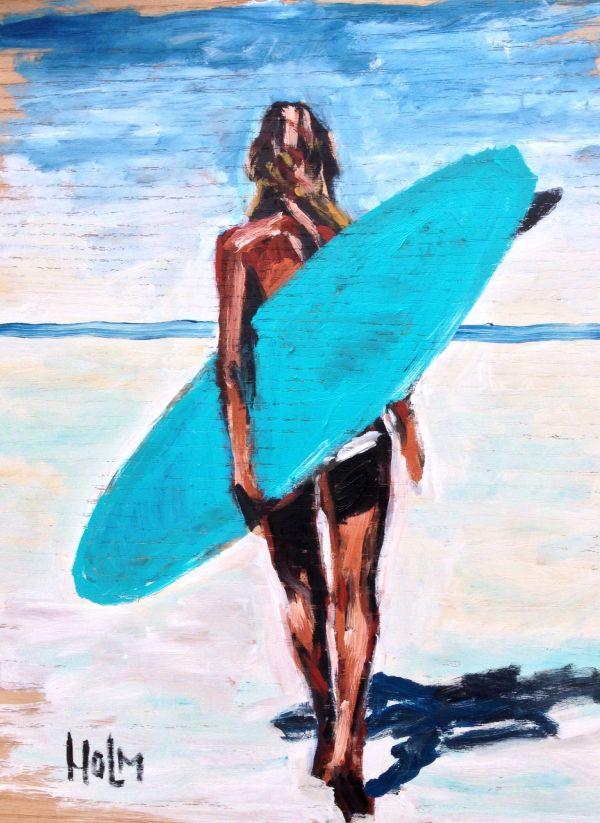 Surf Beach Drawings