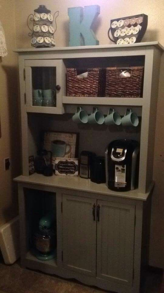 Coffee hutch by Kelly Knips  Coffee tea food and drink