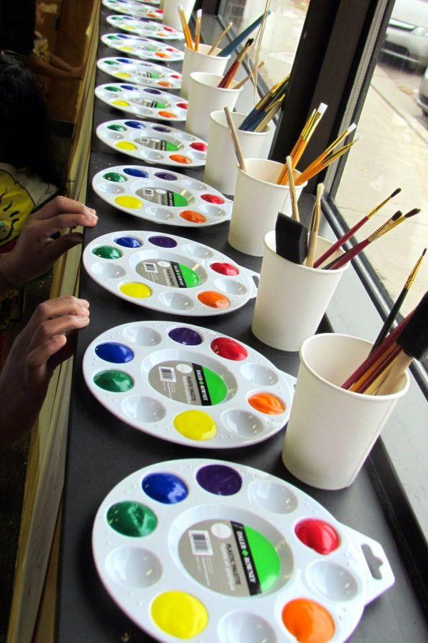 Kids Painting Party Paint Ideas