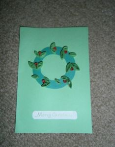 Paper quilling christmas card also rh pinterest
