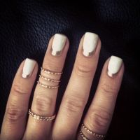 Reverse French Manicure on Pinterest | Reverse French ...