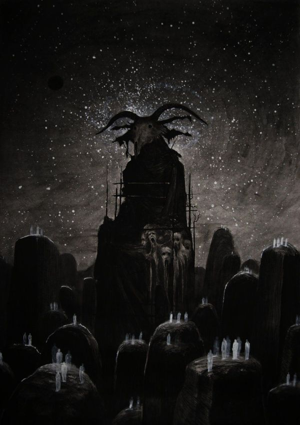 Dark Evil Satanic Art