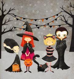 halloween art print the boo crew print kids art children s art decor nursery [ 1000 x 1400 Pixel ]