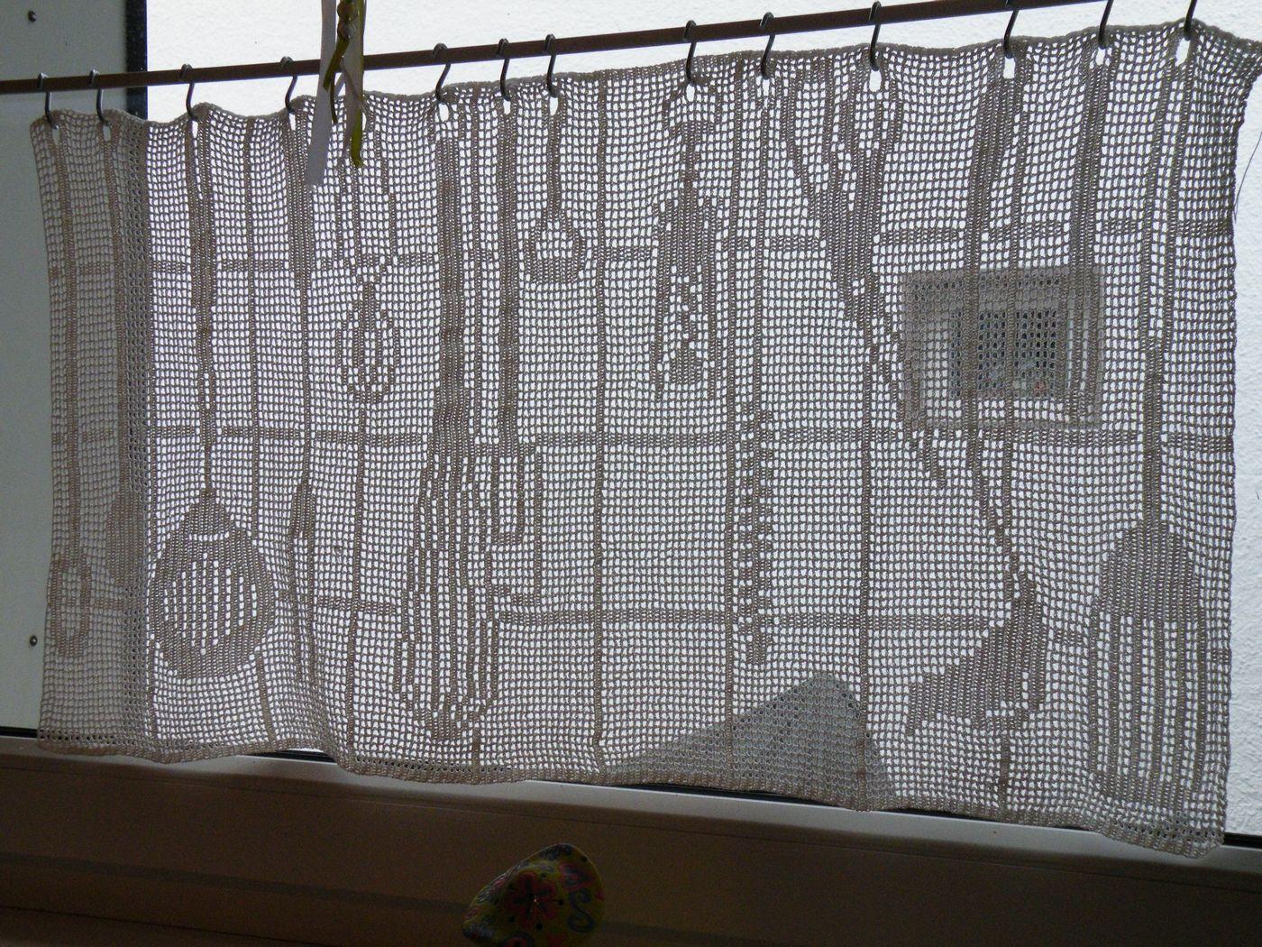 Küche Gardinen Häkeln Anleitung Zeigt Her Eure Vorhänge Gardinen