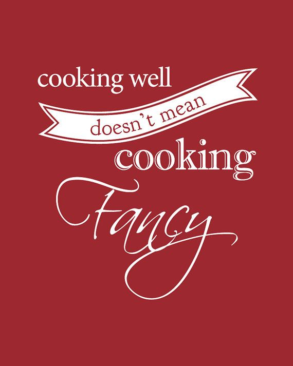 So true...cook from the heart...not to impress but to show ...