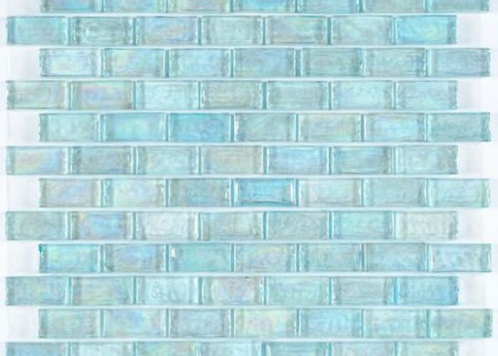 Iridescent pool glass tile aqua  also jacuzzi and water