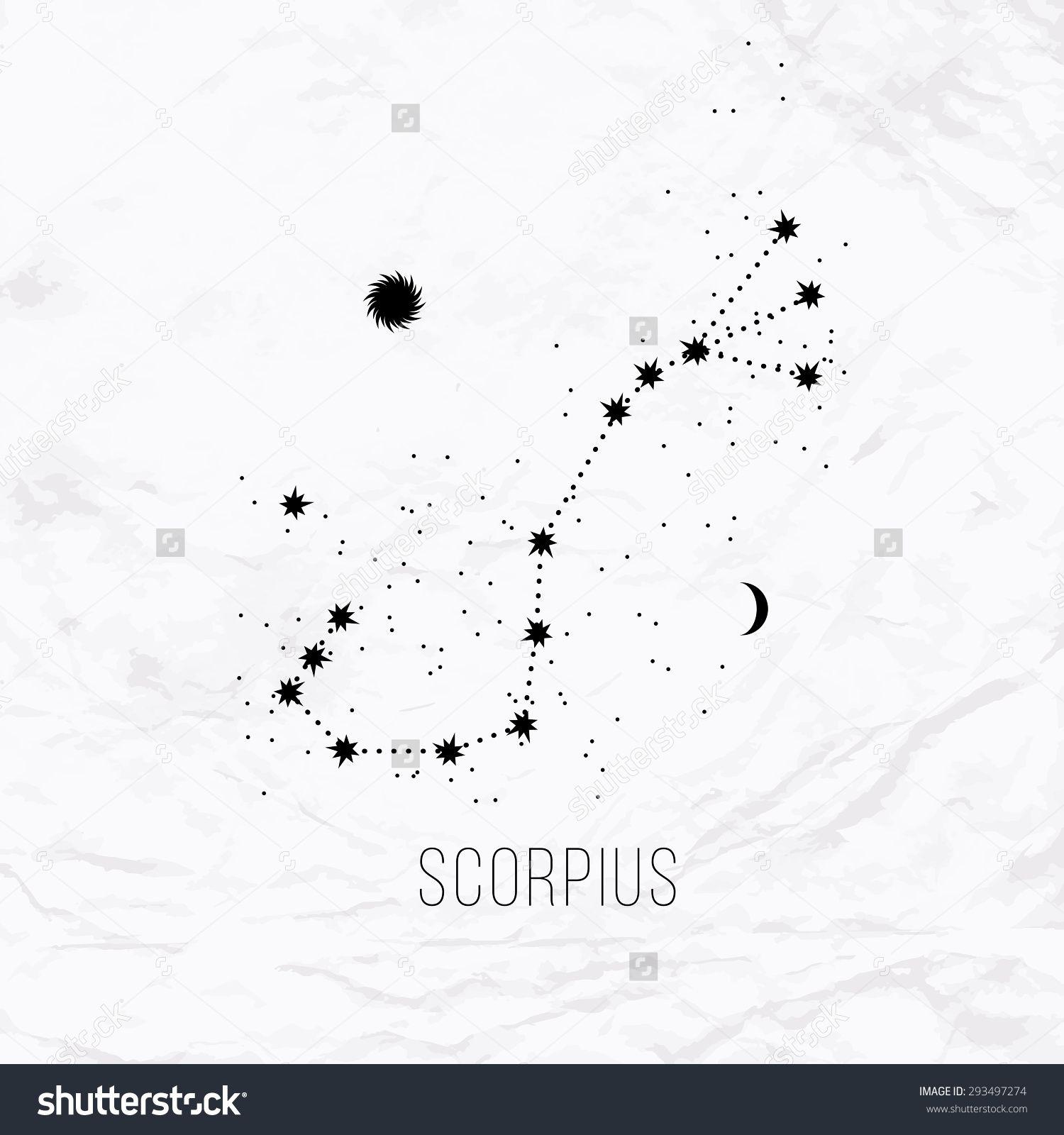 Tattoo Scorpion Constellation  Google Search Horoscope