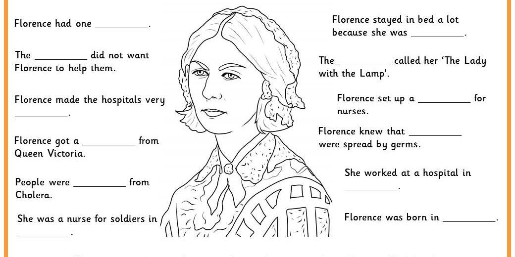 Florence Nightingale Facts. Try this with our Florence
