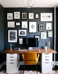 Nothing like working from  home office feel inspired with this decor also best images about study on pinterest ikea industrial and rh