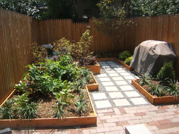 Small Urban Backyard Total Renovation House Projects Pinterest