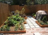 Small Urban backyard total renovation