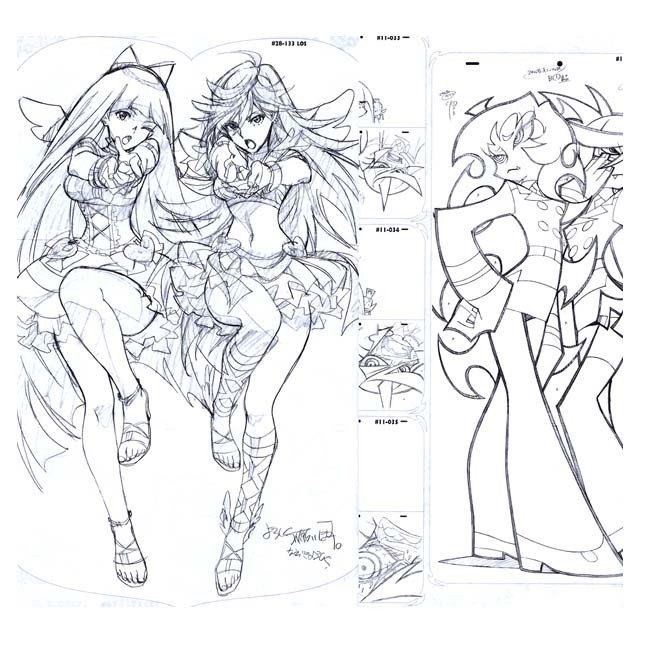art-book-ground-works-of-panty-stocking-with-garterbelt