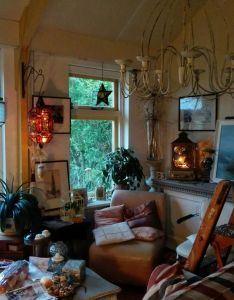 Bohemian decor future house refurbishment living spaces esprit witches farmhouse home drawing room interior also pin by lilith knight on exterior  design pinterest rh