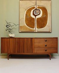Mid Century Modern CREDENZA by John Keal for Brown Saltman ...