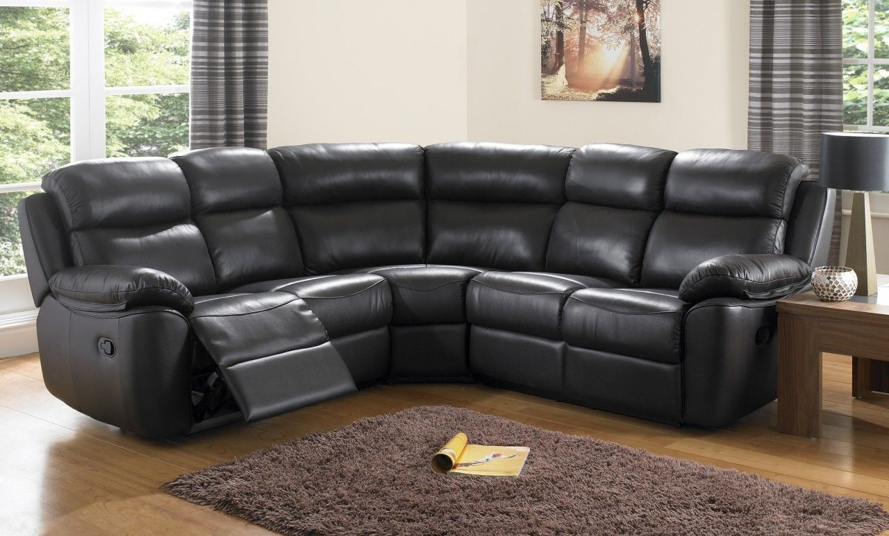 black leather corner sofa recliner camping around sofala houston sofas reclining
