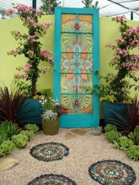 Beautiful Repurposed And Reused Door Ideas