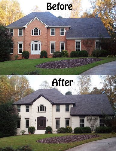 Painting Brick Exterior Unique With 1000 Ideas About Painted Brick