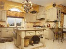Tuscan Style Kitchen Design