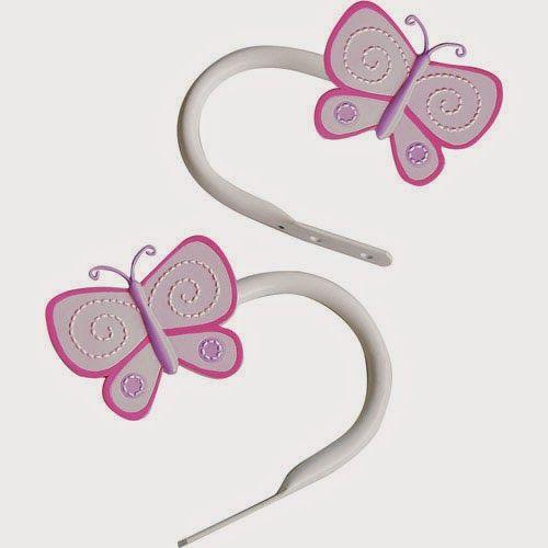 Curtain Ideas Butterfly Curtain Rods And Holdbacks Curtain Rod