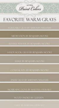 kensington bliss: Favorite Gray/Brown/Taupe Paint Colors ...