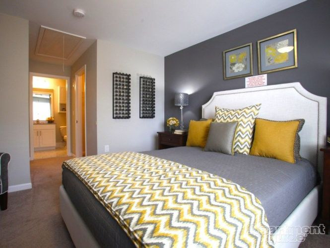 Gray Yellow And Blue Bedroom Ideas – Grey and Yellow Bedroom Designs