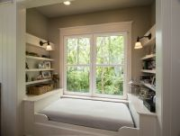 Alcove bed ideas bedroom traditional with reading nook