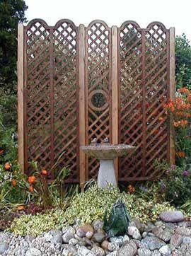 Garden Trellis For Great Landscaping Ideas Trellis Garden Features