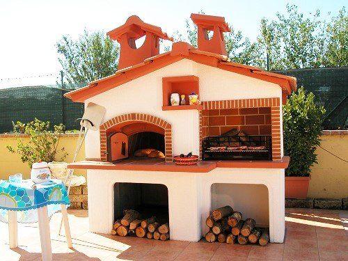 Cucine Esterne Da Giardino In Muratura  Forno a legna in muratura da giardino canada  Cucina