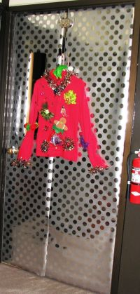 Ugly Sweater Door | Christmas Door Decorations | Pinterest ...