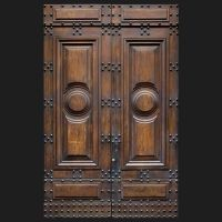 Old Italian Wooden Front Door