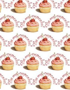 Be My Cupcake Fabric And Wallpaper From Patricia Shea Designs On Spoonfower Also Picked Up Few