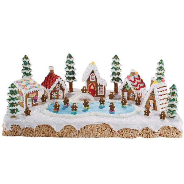 How To Create A Festive Holiday Mini Village With Our Gingerbread