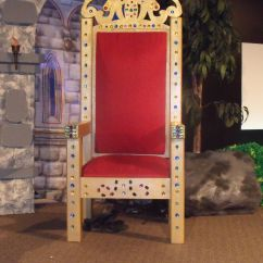 How To Make A Queen Throne Chair High Back Beach Chairs Main Stage Lscc Kingdom Rock Vbs The End Product