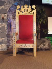 Main stage throne   LSCC Kingdom Rock VBS- the end product ...