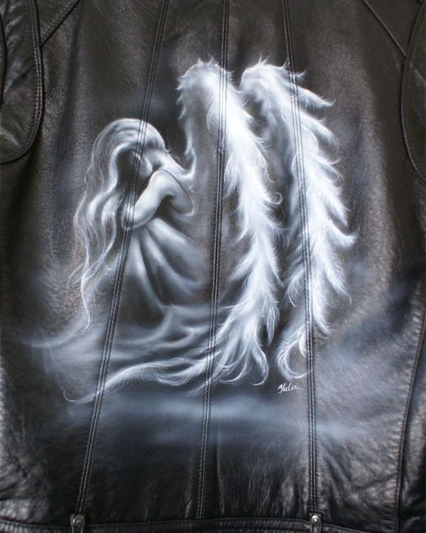 Angel Wings Airbrush Art