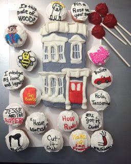 Fuller House Party Cake Decorating Pinterest Fuller House