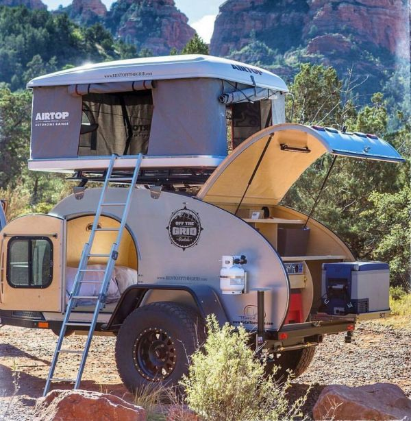 OffRoad Teardrop Campers Pinterest Camping