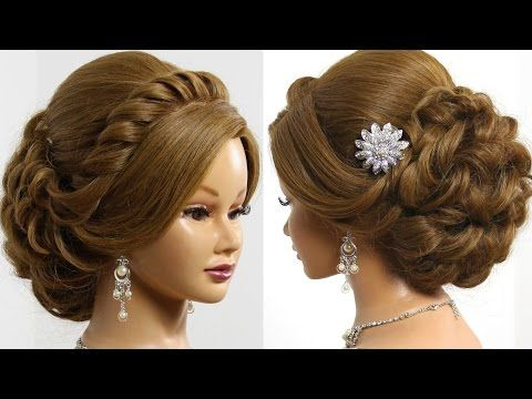 Prom Wedding Updo Romantic Hairstyle For Long Medium Hair