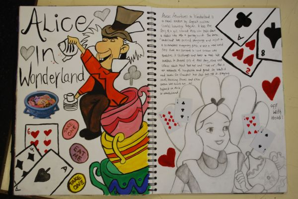 Alice In Wonderland Drawing Ideas Imgurl