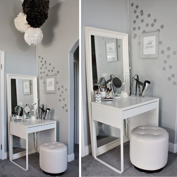 Small Makeup Vanities