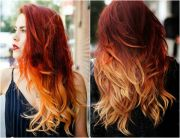 fire ombre hair hairstyles