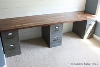 Butcher Block Desk Top | Butcher block desk, Custom desk ...