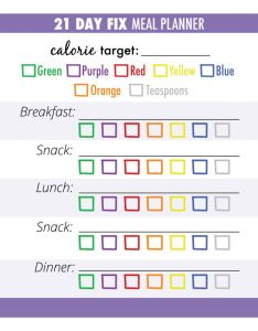 At the top of tracker you  ll want to put number each container re allotted from day fix calorie calculator also how make meal prep shockingly easy rh soreyfitness