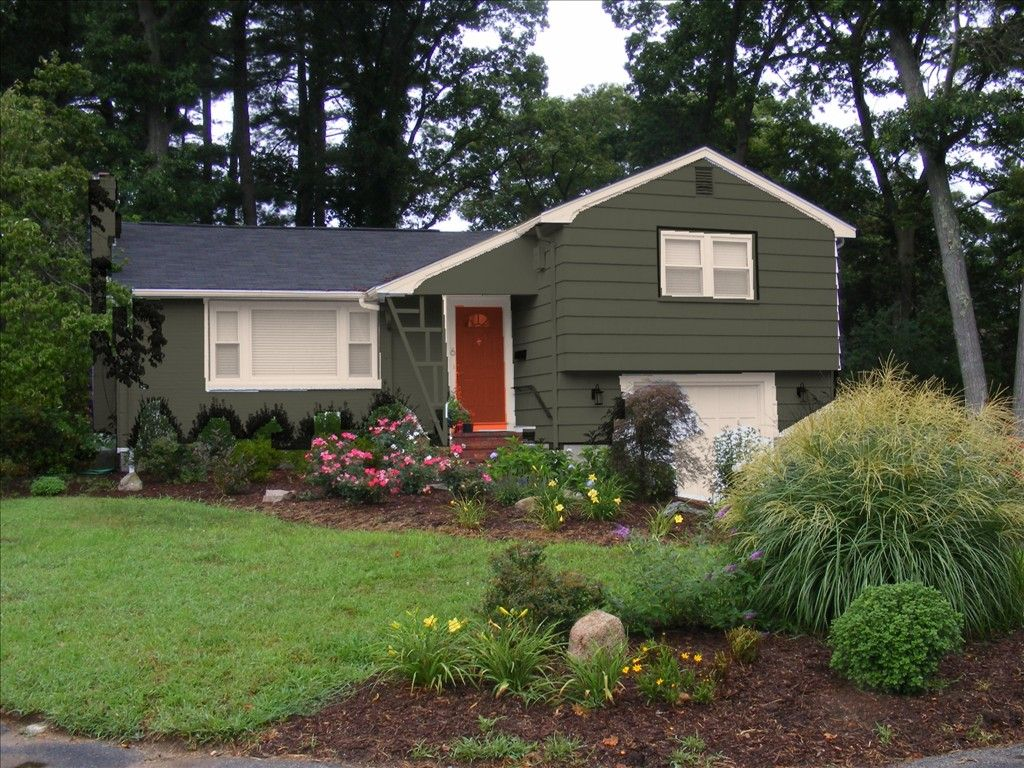Exterior Paint Color Schemes Lovely Home Front Yard With