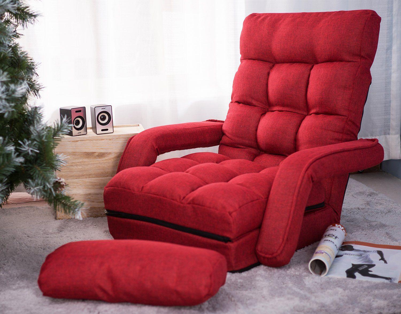 folding floor sofa chair palmer walnut foldable lazy futon modern