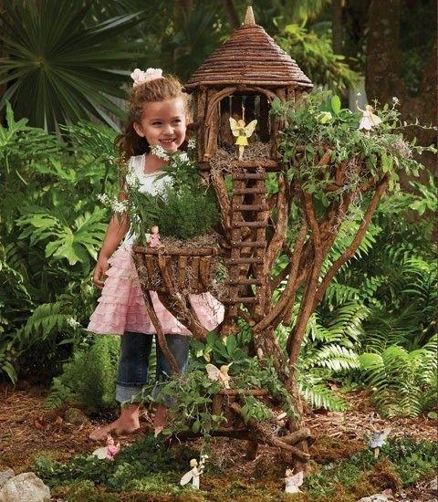 Fairy Garden Ideas Fairy House Tree Branches Garden Decor Mini