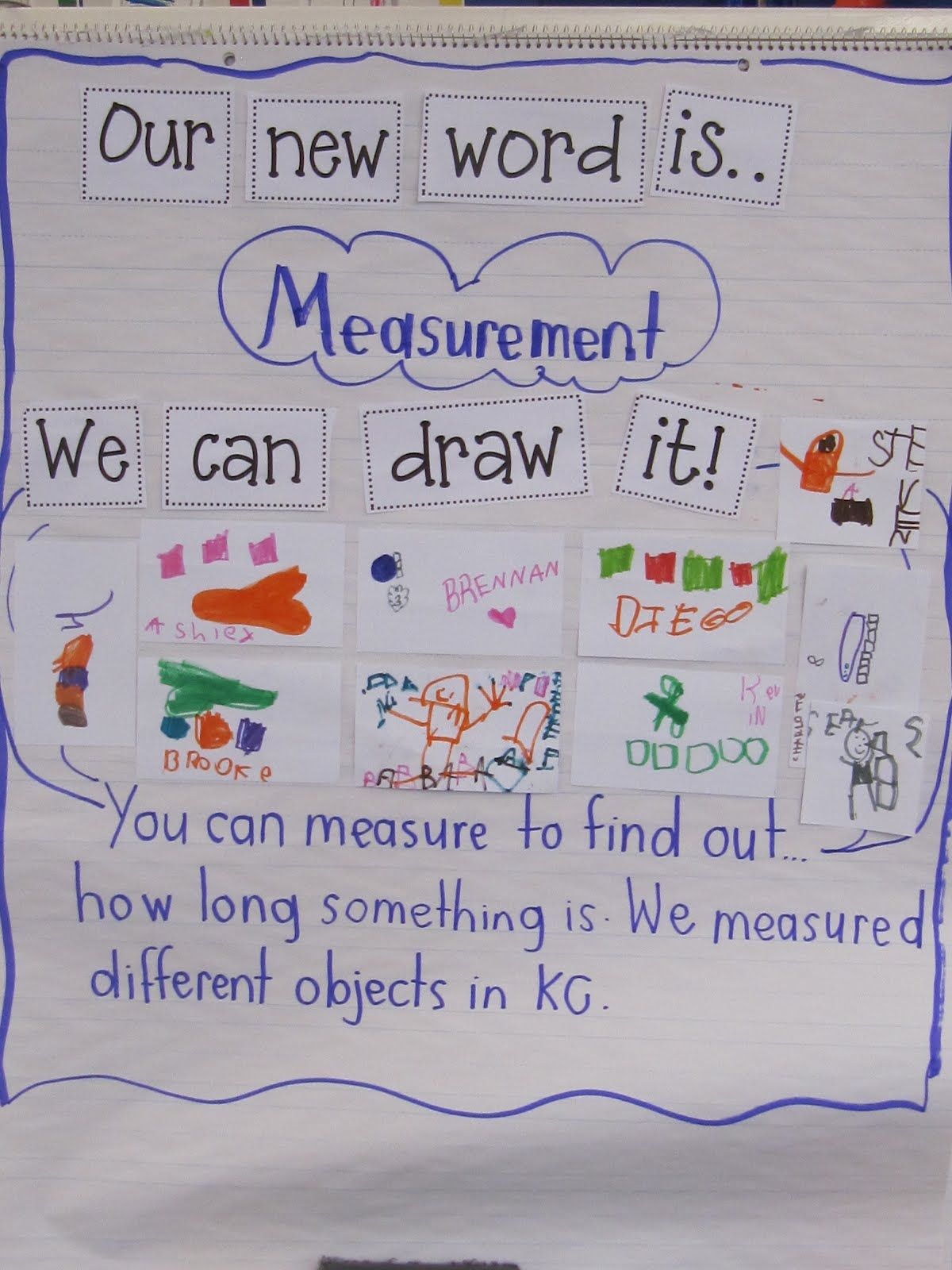 Kindergarten Math Measurement