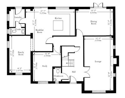 Floor Plan Design With Dimension Google Search Saleem