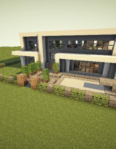 Modern minecraft home design information also house pinterest rh za
